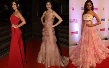 BEST DRESSED & WORST DRESSED At The Hello! Hall Of Fame Awards 2017: Katrina Kaif, Anushka Sharma Or Alia Bhatt?