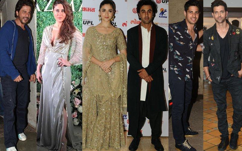 STUNNER OR BUMMER: Shah Rukh Khan, Kareena Kapoor, Alia Bhatt, Ranbir Kapoor, Sidharth Malhotra, Hrithik Roshan?