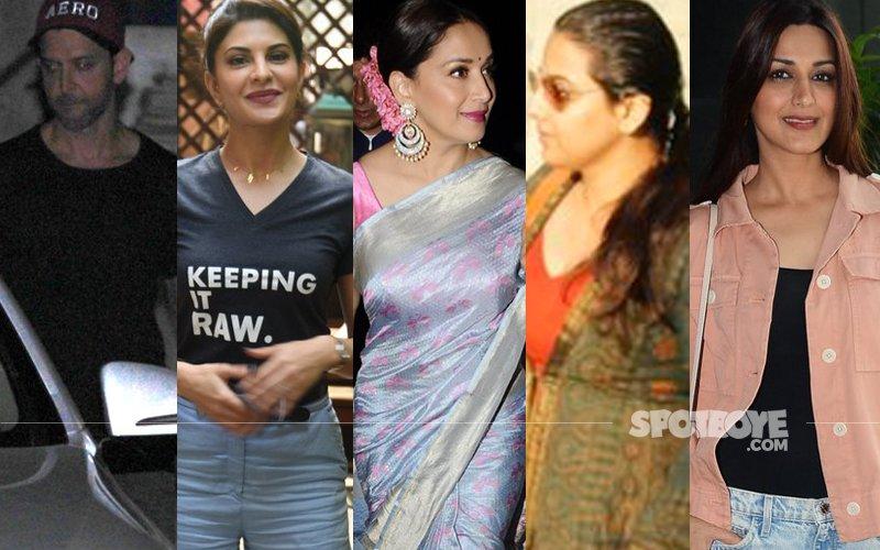 STUNNER OR BUMMER: Hrithik Roshan, Jacqueline Fernandez, Madhuri Dixit, Vidya Balan Or Sonali Bendre?