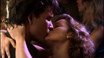 kiss scene in dirty dancing