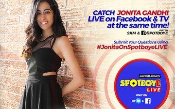 SPOTBOYE LIVE: SpotboyE Salaam Winner Jonita Gandhi Live On Facebook And 9XM!