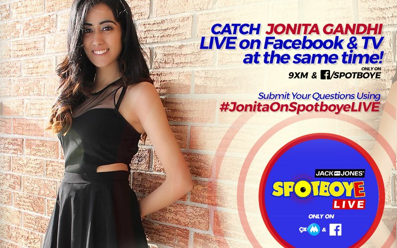 SPOTBOYE LIVE: SpotboyE Salaam Winner Jonita Gandhi Live On Facebook And 9XM!