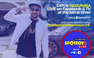 SPOTBOYE LIVE: Rapper Fazilpuria Live On Facebook And 9XM!