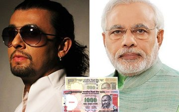 Sonu Nigam Releases A Video Directed By Milap Zaveri Supporting PM Modi's Decision Of Banning Rs 500 & 1000 Notes