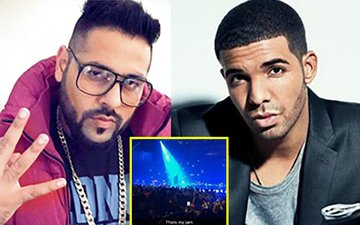 WOAH! Badshah Attends Rapper Drake's Concert In London