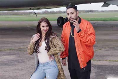singer rapper badshah new song to feature lauren gottlieb