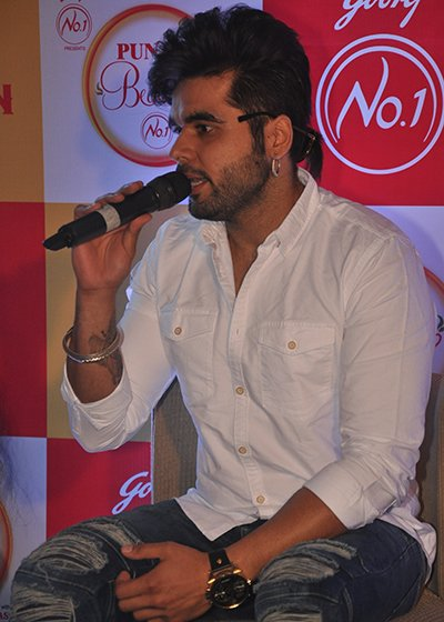 singer ninja speaking at punjab di beauty no 1 event