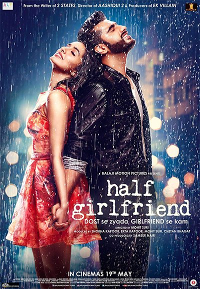 half girlfriend poster arjun kapoor and shraddha kapoor