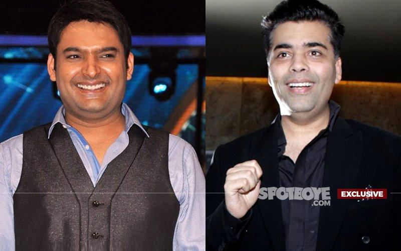 Kapil Sharma & Karan Johar Unite For Fun Content
