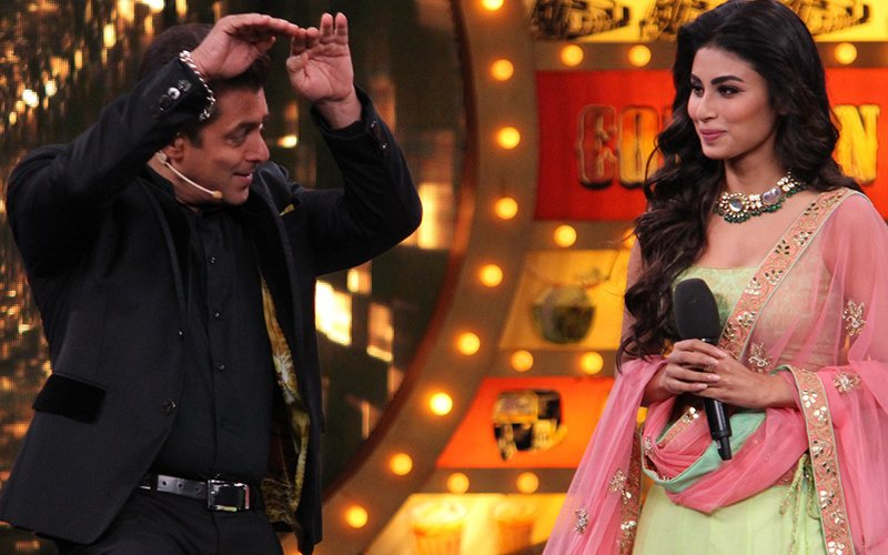 Bigg Boss 10, Day 34: Catch Salman Khan Do The Naag Act With Naagin 2's Mouni Roy