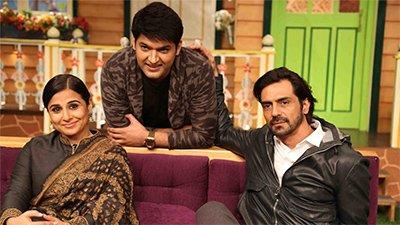 The Kapil Sharma show Vidya Arjun