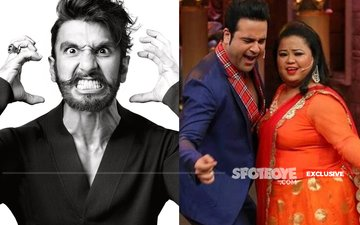 Now, Ranveer Singh Kicks Krushna Abhishek's Comedy Nights Bachao Taaza