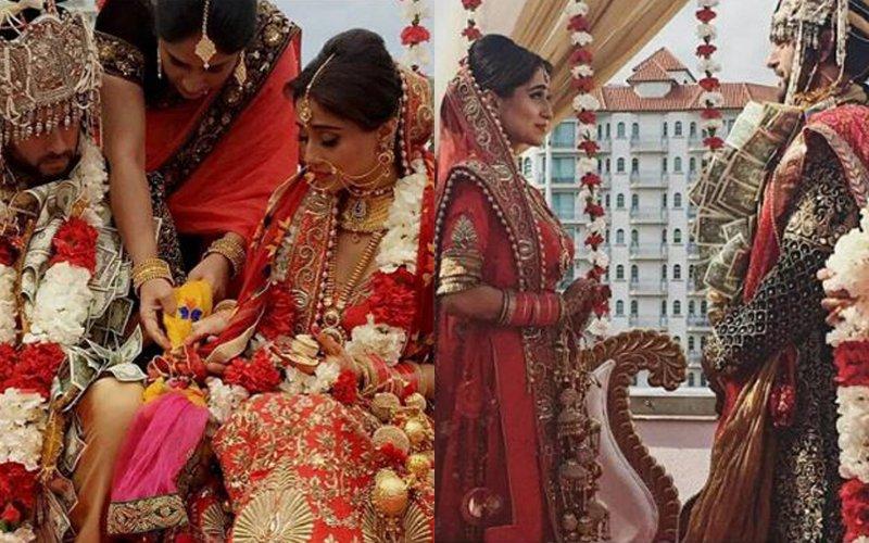 Chakravartin Ashoka Samrat Actress Soumya Seth Ties The Knot