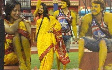 Bigg Boss 10, Day 93: Mona & Vikrant's Haldi Ceremony Gets Underway