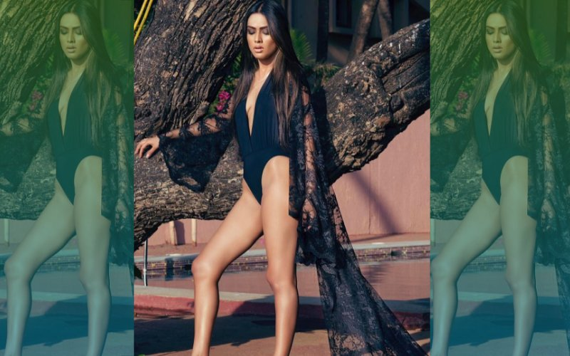 Sexiest TV Star Nia Sharma Strips Down To Teeny Swimsuit