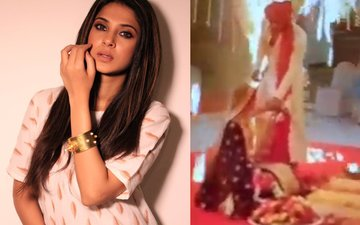 Jennifer Winget Suffers Minor Burns After Fire Breaks Out On Beyhadh Set