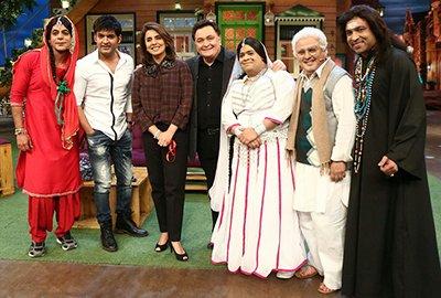 sunil grover kapil sharma neetu rishi bumper ali sagar on kapil sharma show