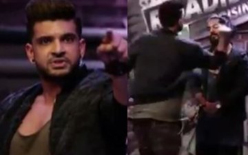 Karan Kundra Slammed On Social Media For Slapping A Person On National TV