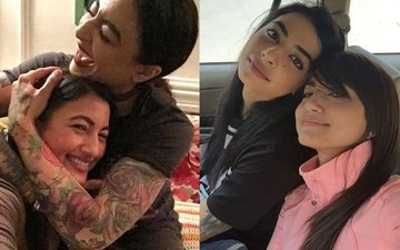 Girlfriends VJ Bani and Gauahar Khan Get Too Close To Each Other