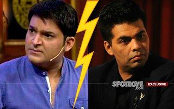 War Escalates? No Kapil Sharma On Karan Johar's Couch!