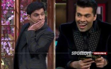 Consequences Of Kapil Sharma Refusing To Talk Sex With Karan Johar