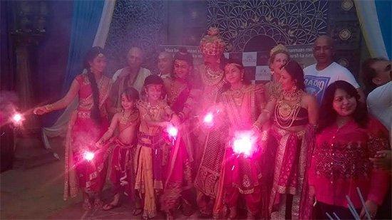 chakravartin ashoka 200 episodes celebration