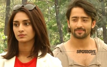 WHAT! Erica Fernandes Gives Shaheer Sheikh A Royal Ignore