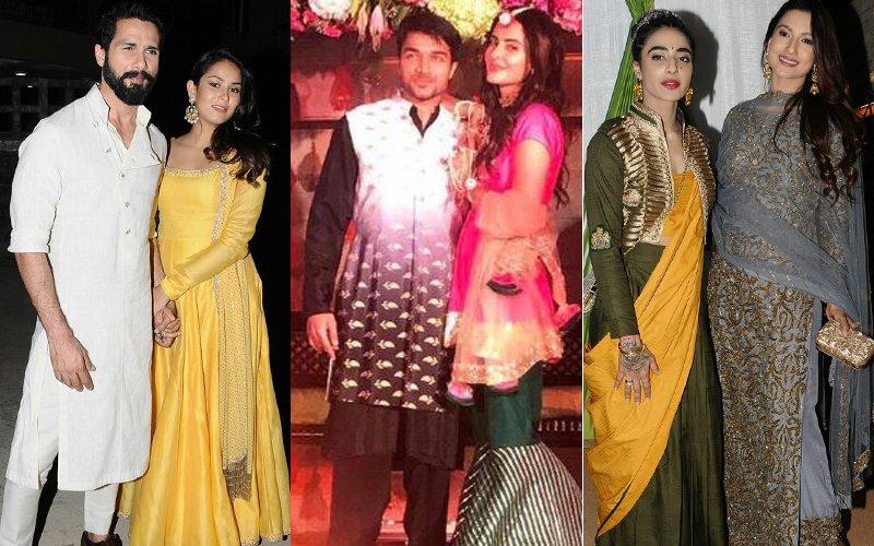 Shahid-Mira, Gauahar-Bani Grace Mandani Karimi & Gaurav Gupta's Wedding Party