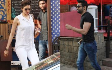 Kiss & Make Up? Karishma Tanna-Upen Patel Have Lunch Together