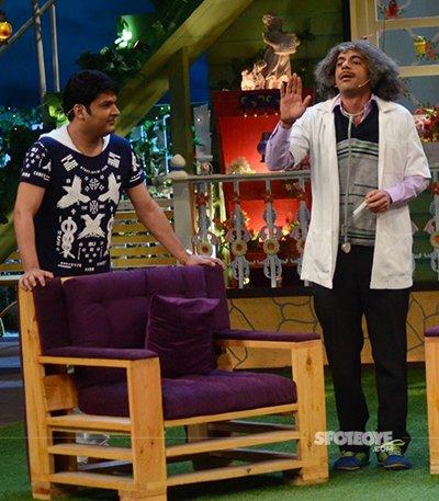 kapil sharma and doctor mashoor gulati on the kapil sharma show