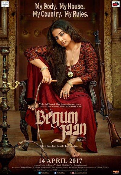 vidya balan in begum jaan poster