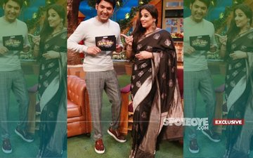 Height Of Audacity! Kapil Sharma Keeps Vidya Balan Waiting For Six Hours