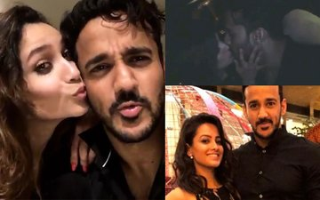 MAD PARTY: Anita Hassanandani Gives Hubby A Kiss, Ankita Lokhande's HIGH Spirits