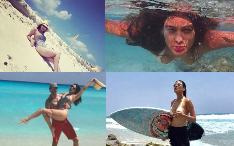 BIKINI BABES: Nia Sharma & Sunny Leone's Exotic Vacation Ends On A Sexy Note