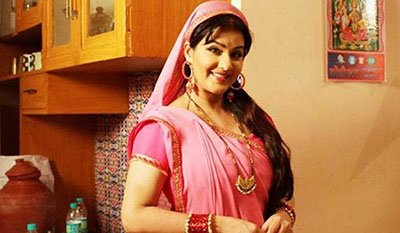 shilpa shinde files in a still from bhabhiji ghar pe hai