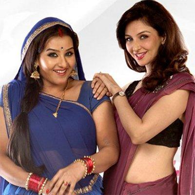 samuya tandon and shilpa shinde in bhabiji ghar par hai