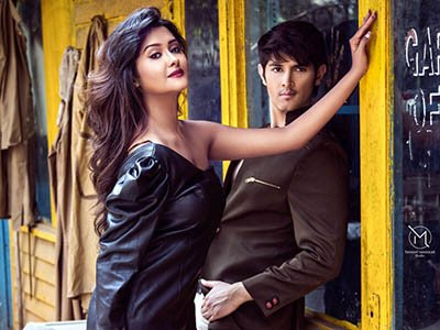 tv lovebirds rohan mehra and kanchi singh during a hot photoshoot