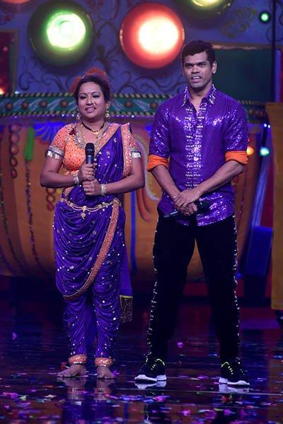 siddhartha and trupti jadhav performance on Jhingat during nach baliye 8 grand premiere