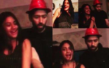 WATCH: Ishqbaaz Nakuul Mehta & Surbhi Chandna Shake Their Booties At A Party