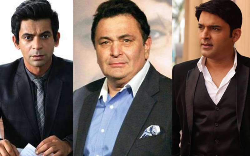 'I Am Retired HURT', Replies Sunil Grover To Rishi Kapoor's Request For A PATCH-UP With Kapil Sharma