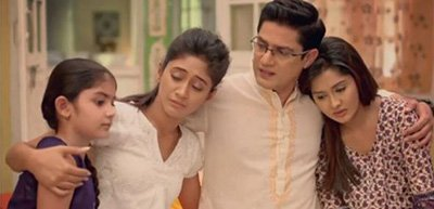 naitik and other family members moan the death of akshara