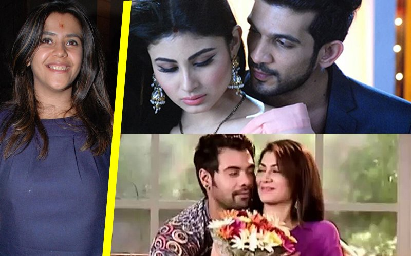 TV Czarina Ekta Kapoor Continues To Rule, Bags The 1st And 2nd Position With Naagin 2 And Kumkum Bhagya