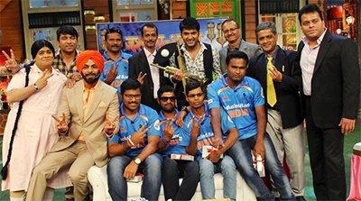 kapil sharma show blind cricket team
