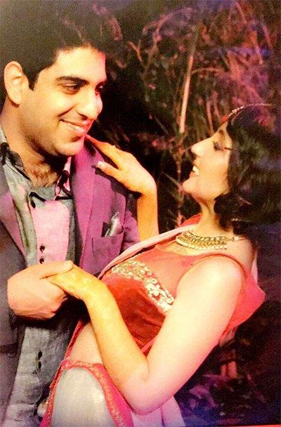 Akanksha Sharma And Zorawar Singh Dancing
