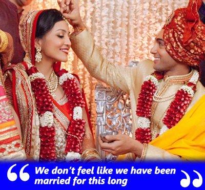 tv couple ruslaan mumtaz and nirali mehta wedding anniversary on valentines day