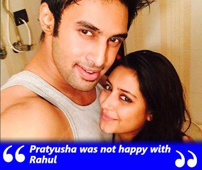 pratyusha banerjee and rahul