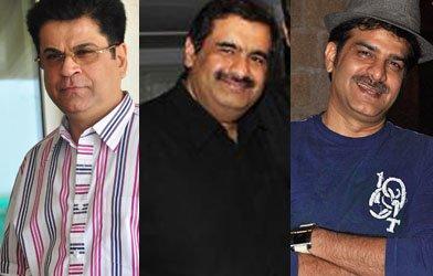 Kumar Taurani , producer Manish Goswami and producer J D Majethia.jpg