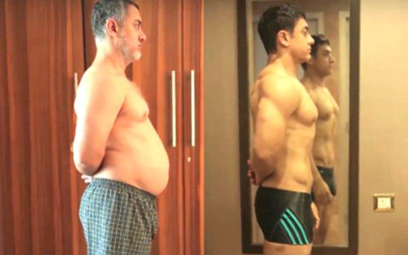 SOCIAL BUTTERFLY: Aamir Khan's Fat To Fit Journey
