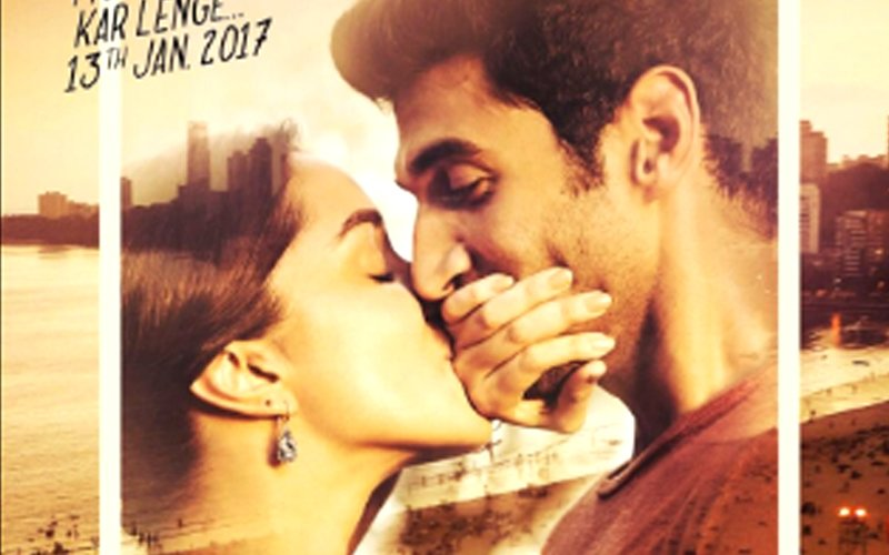 SOCIAL BUTTERFLY: Shraddha Shares First Look Poster Of Her Film OK Jaanu