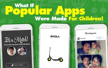 VIDEO: What If Popular Apps Were Made For Children!